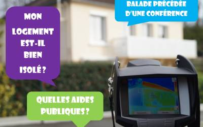 ANNULATION - Balade thermographique à Villemaury